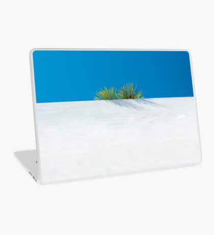 Über der tropischen Gartenmauer Laptop Folie