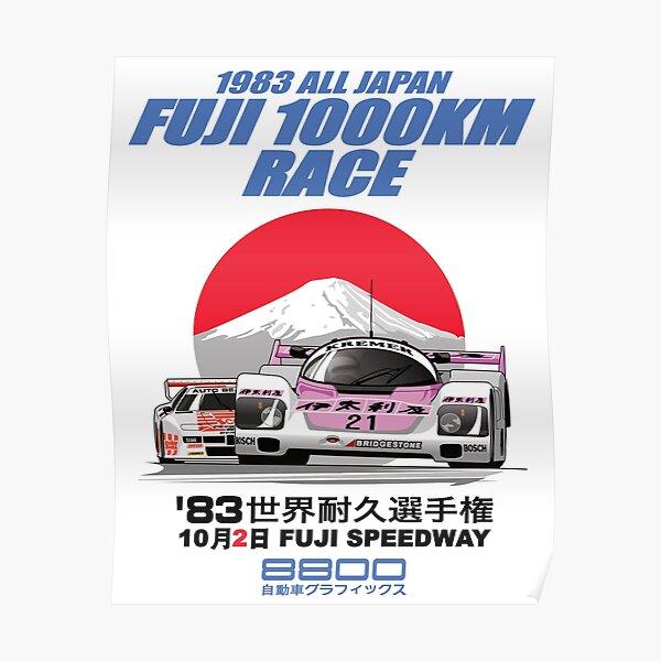 1983 FUJI 1000KM Poster