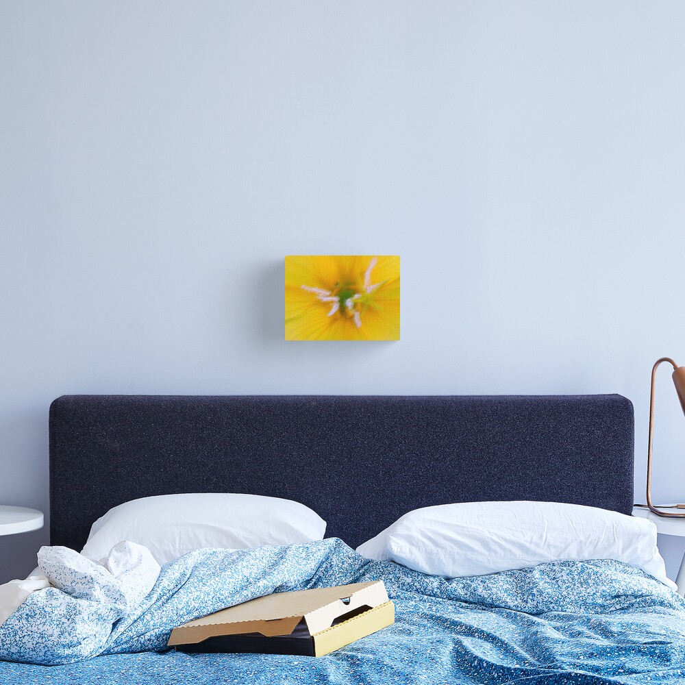 Yellow Frenzy Canvas Print