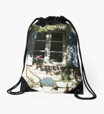 Rose Cottage Drawstring Bag