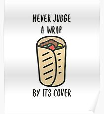 Never Judge a Wrap by its Cover Poster