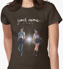 Your Name(Kimi no na wa) Womens Fitted T-Shirt