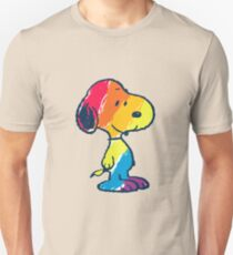rainbow snoopy T-Shirt
