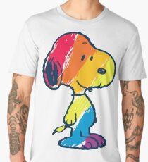 rainbow snoopy Men's Premium T-Shirt