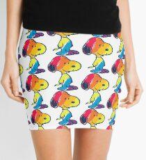 rainbow snoopy Mini Skirt