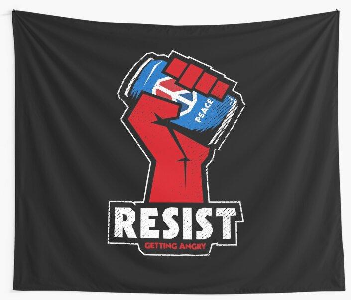 RESIST! by HellFrog