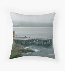 Tathra Wharf Throw Pillow