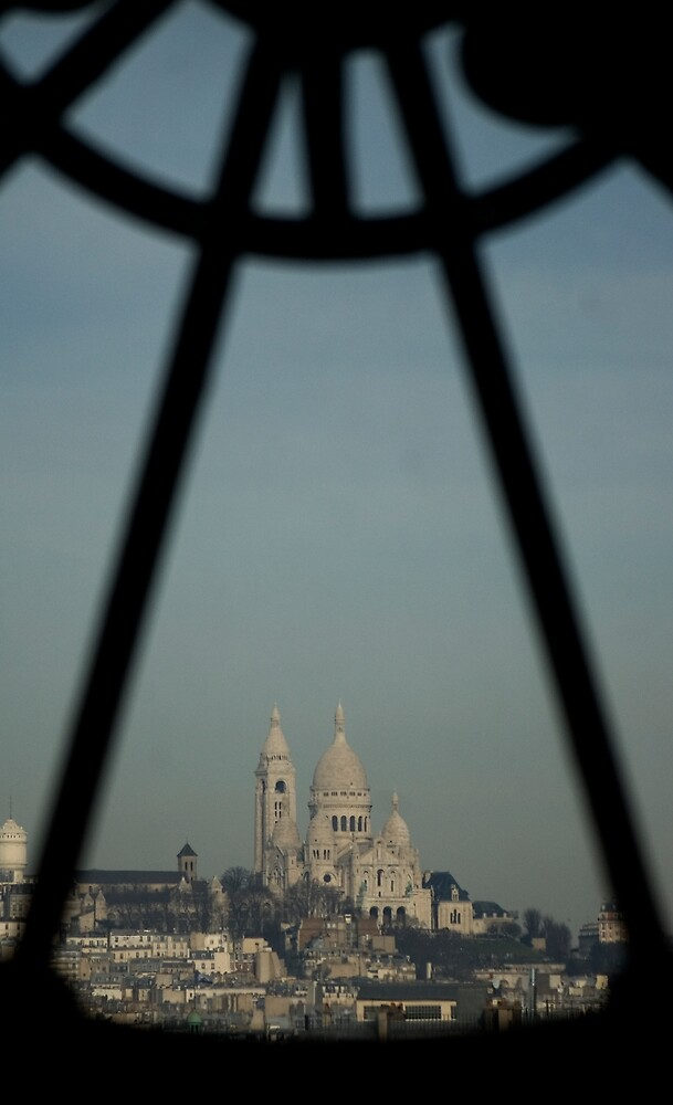 Sacre Cour from Musee D'Orsay by PaulTyrer