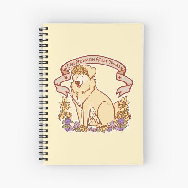 Inspirational Retriever  Spiral Notebook