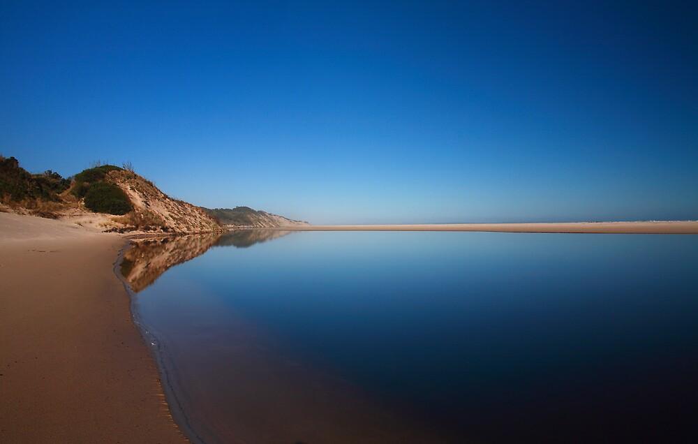 Stillness, Henty Dunes, Tasmania by David Jamrozik