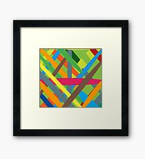 Brush happy Framed Print