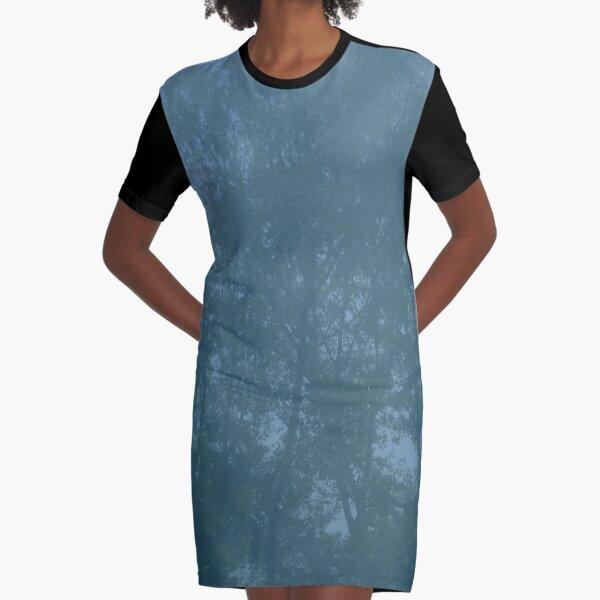 LAPIS - TREE Graphic T-Shirt Dress