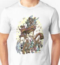 Intergalactic Ecstatic Fantastic Emphatic Unity Choir Unisex T-Shirt