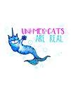 Unimercats are real (unicorn, mermaid, cat) by jitterfly