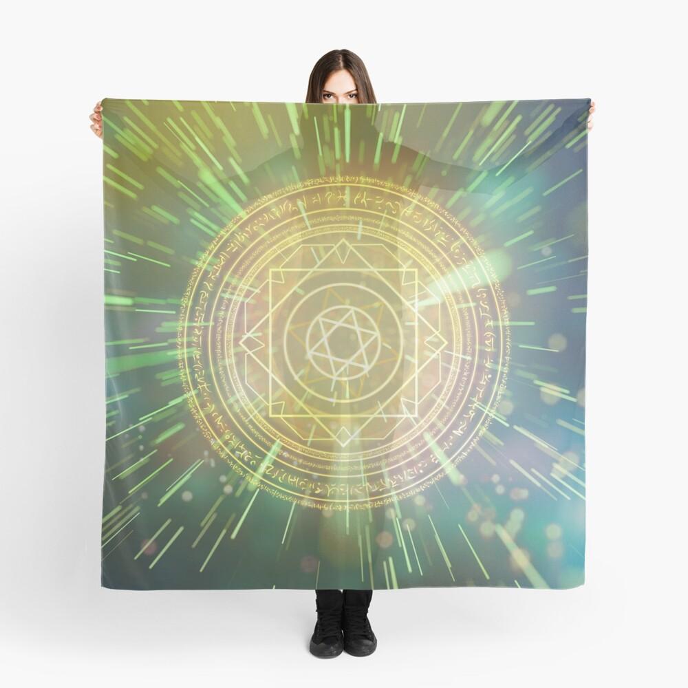 Seltsame magische Mandala 3 Tuch
