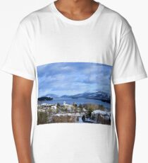 Winters lake Long T-Shirt