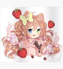 strawberry milk ! Poster