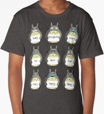 Totoro Emoji Long T-Shirt