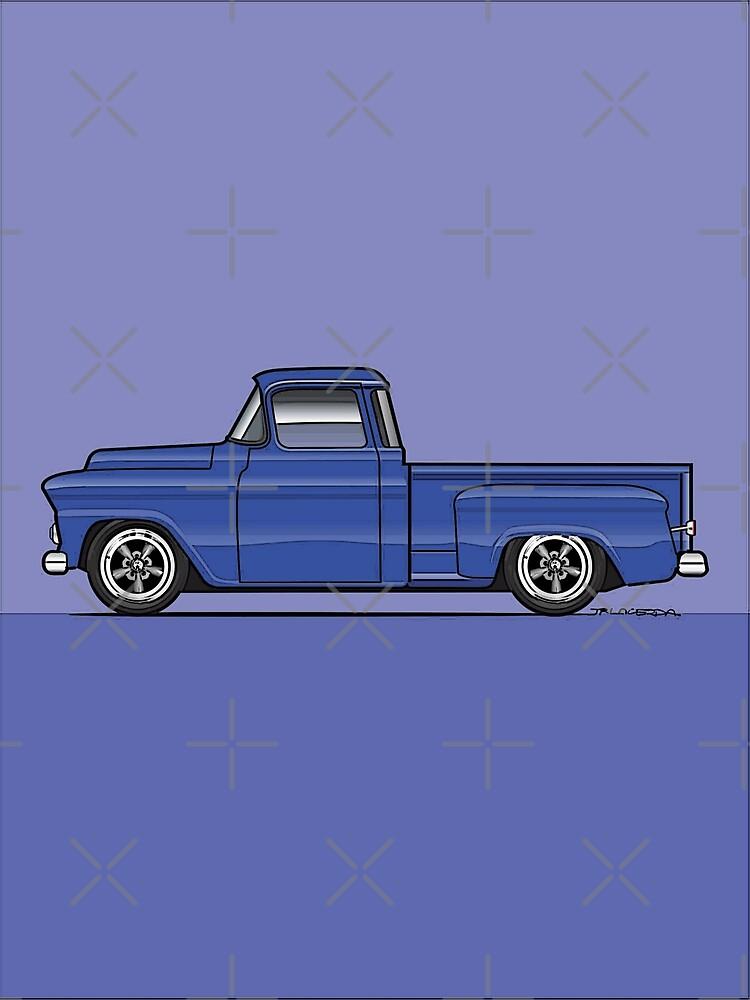 58-59 Chevy Stepside Truck blue by JRLacerda