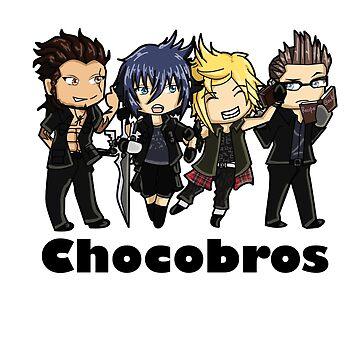 Chocobros by bahamutdawn
