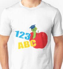 ABC Worm Unisex T-Shirt