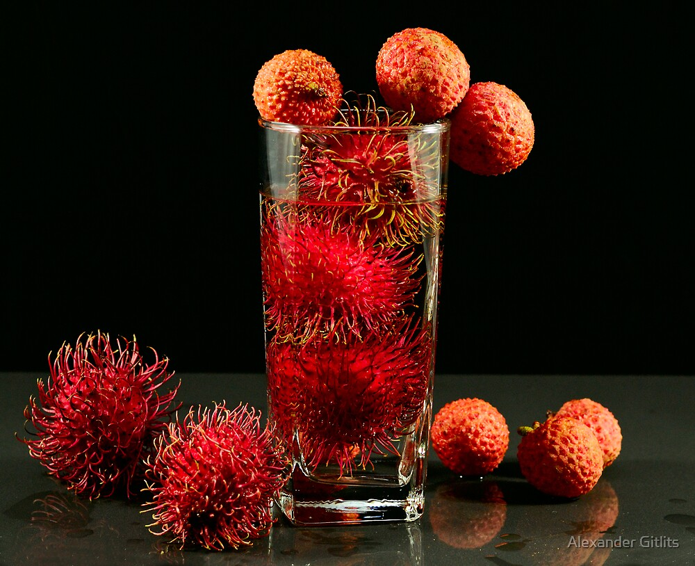 Asian Tropical Fruit by Alexander Gitlits