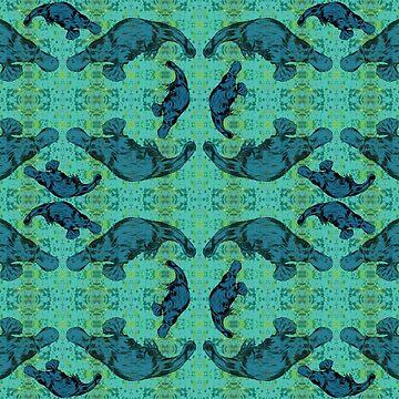 Blue Ocean Platypus by peaceofpistudio