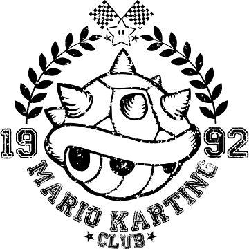 Mario Karting Club by RiverartDesign