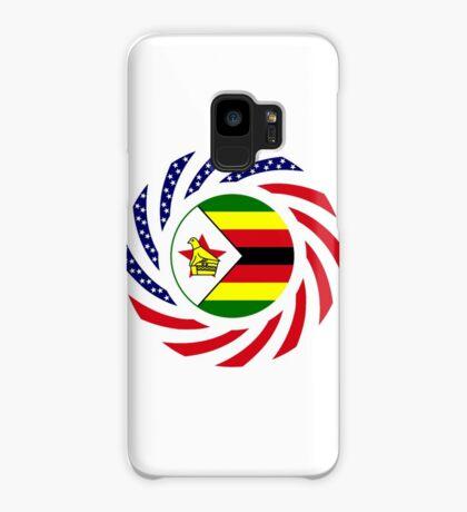 Zimbabwean American Multinational Patriot Flag Series Case/Skin for Samsung Galaxy