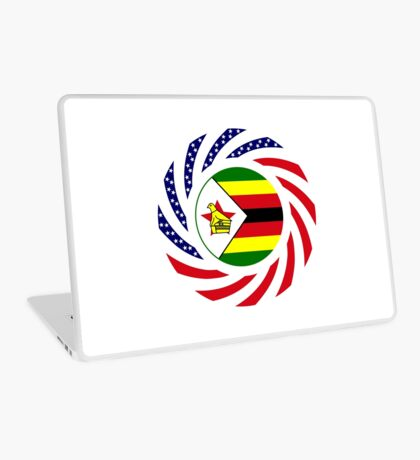 Zimbabwean American Multinational Patriot Flag Series Laptop Skin
