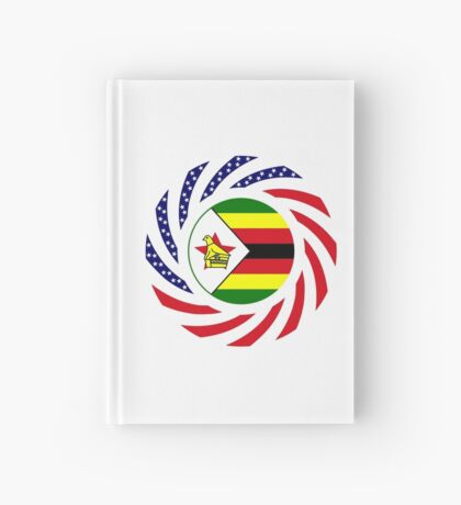 Zimbabwean American Multinational Patriot Flag Series Hardcover Journal