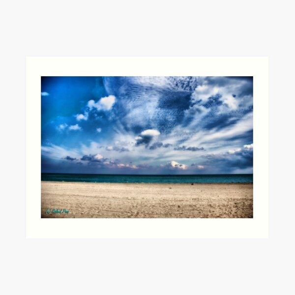 Sand, Sea & Sky Art Print