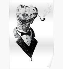 t rex dibujo pósters redbubble