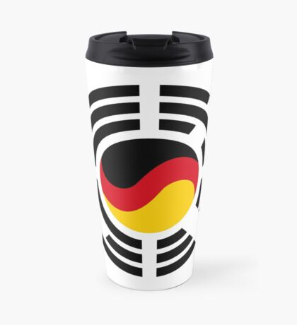 Korean German Multinational Patriot Flag Series Travel Mug