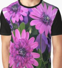 Flower Cluster Graphic T-Shirt