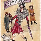 Weimar Street Scene (die Damen sie auf dem Boulevard zu Fuß , um ihre Miete zu zahlen)  by Caviglia