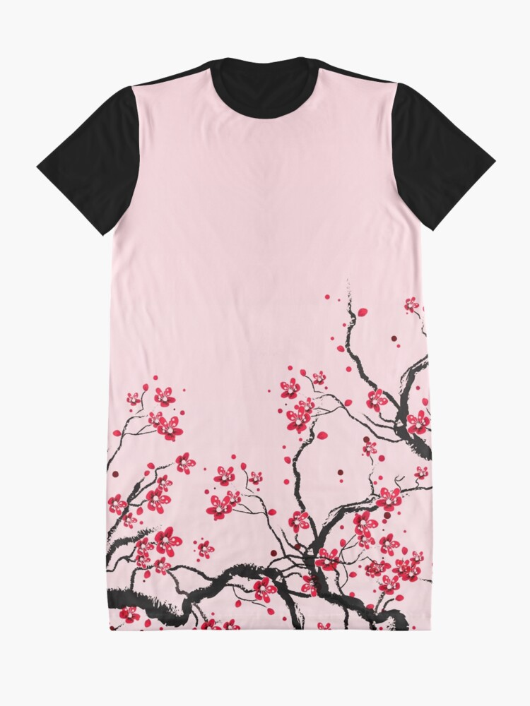 Alternate view of Cherry Blossom Graphic T-Shirt Dress