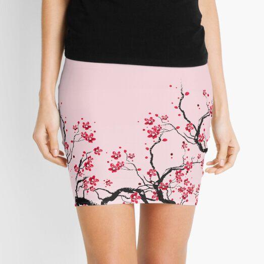 flor de cerezo Minifalda