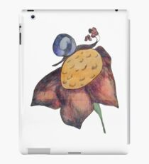 Snail on a Flower iPad Case/Skin
