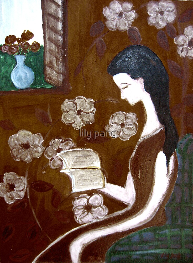 Joy of Reading by lily pang