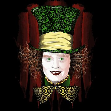 The Mad Hatter by RiverartDesign