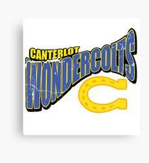 canterlot wondercolts Canvas Print