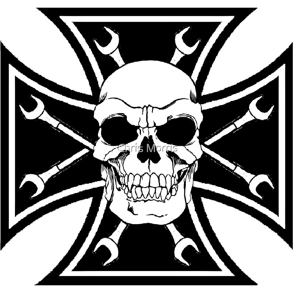 SKULL CROSS WRENCH by ctoph22282