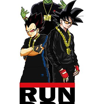 RUN DBZ by TVMdesigns