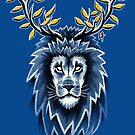 Deer Lion by c0y0te7