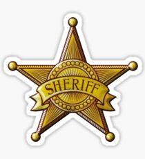 Sheriff Sticker