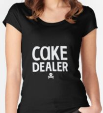 Cake Dealer Women's Fitted Scoop T-Shirt