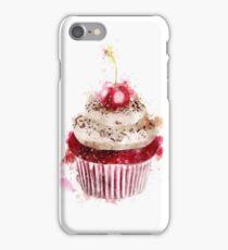 Watercolor Cupcake iPhone Case/Skin