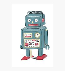 Toy Robot Photographic Print