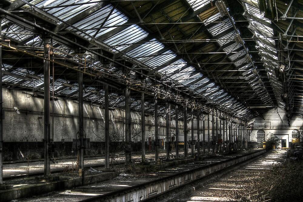 Train Shed by Richard Shepherd